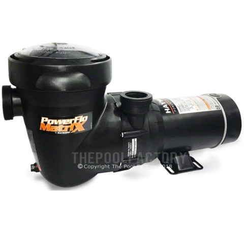 Hayward Power-Flo Matrix Pump 1.5 HP 2-SPEED - Vertical Discharge