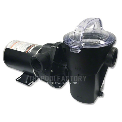 Hayward Power-Flo LX Pump 1 HP Horizontal Discharge