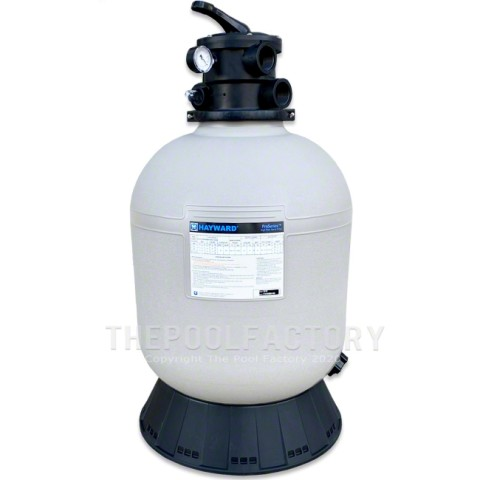 Hayward Pro Series S166T Above Ground Pool Sand Filter Tank with Skirt
