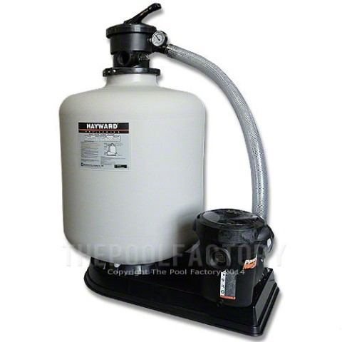 Hayward S230T Sand Filter System with 1.5-HP 2 Speed Matrix Pump