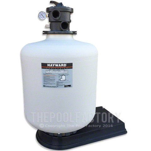 Hayward Pro Series S230T Above Ground Pool Sand Filter with Deluxe Base