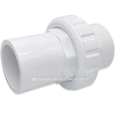 Hayward 1-1/2-Inch Socket Union Check Valve SP14461S
