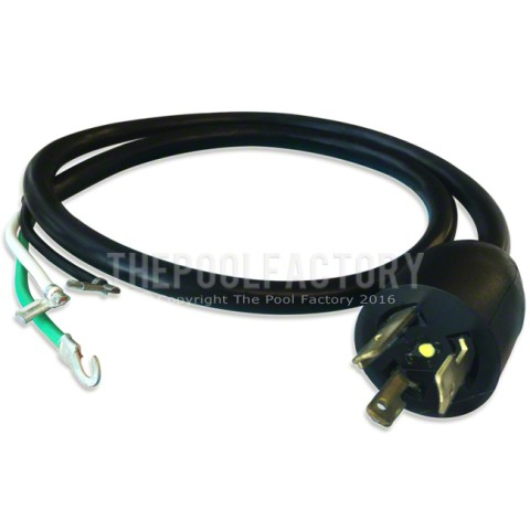 3' Pump Power Cord with Twist Lock Plug