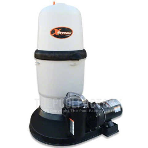 Hayward XStream 150 Cartridge Filter System 1.5-HP Power-Flo Pump