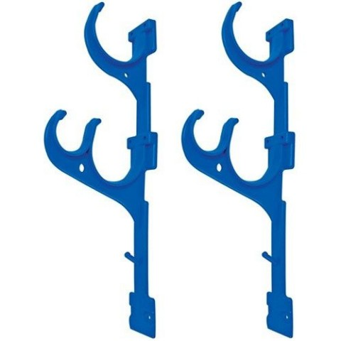Pole & Hose Hanger 2-Hook Set