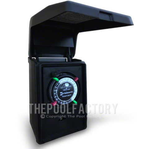 Intermatic Heavy Duty Portable Standard Plug-In Outdoor Timer
