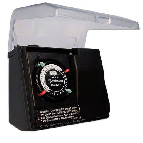 Intermatic Heavy Duty Portable Twist Lock Plug-In Outdoor Timer