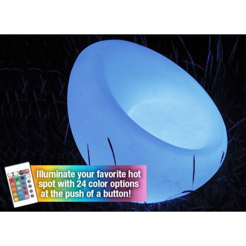 The Ibizia by Main Access LED Illuminated Chair Light w/Remote Control 131786