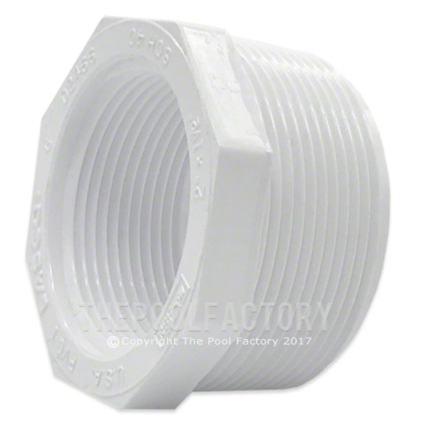 "Lasco 2"" MPT x 1.5"" FPT (Male x Female) Threaded Reducer Bushing 439-251"