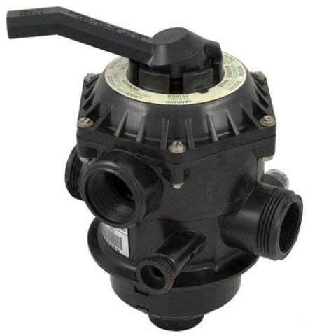 Pentair Sand Dollar 6-Way Top Mount Multiport Valve 262506