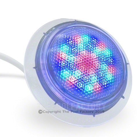 Multi-Colored Universal Above Ground Step Pool Light