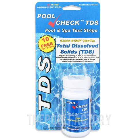 Pool Check TDS Test Kit (35 Strips)