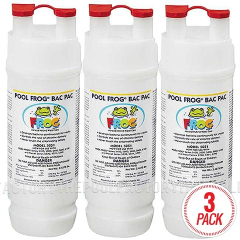 Pool Frog Chlorine Bac Pac - 3 Pack - Model 5051