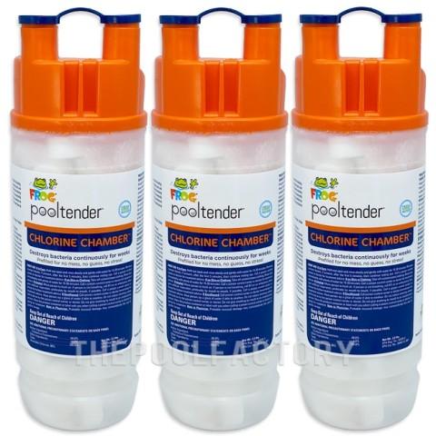 Frog Pool Tender Chlorine Chamber - 3 Pack