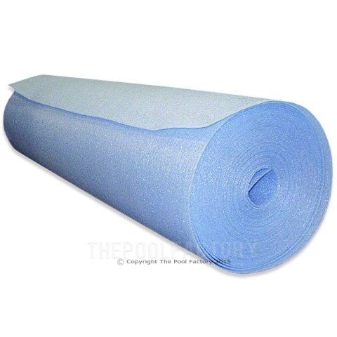 "Gladon Pool Wall Foam 1/8"" x 48"" x 105' - AG105"