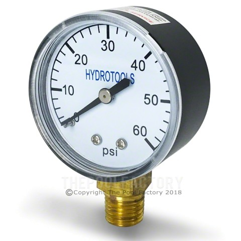 Side Mount Pressure Gauge