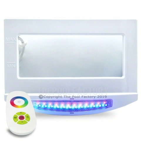 Multi-color LED Skimmer Light Plate with Remote Control