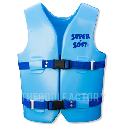 Super Soft Vest - Child Youth Medium Blue 50-90lbs.