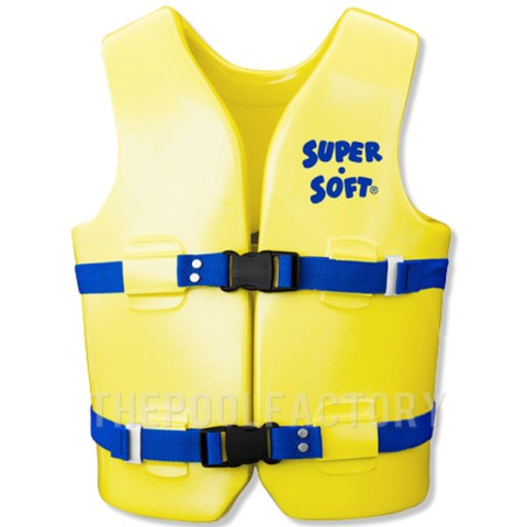 Super Soft Vest - Child Youth Medium Yellow 50-90lbs.