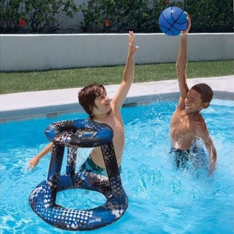 Swimways Hydro Spring Basketball 33400