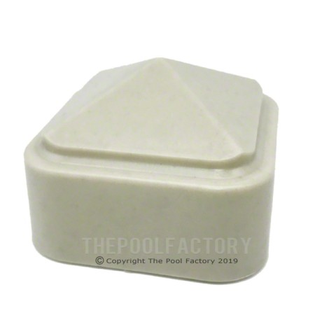 Fence Post Cap (Taupe) for Vinyl Works Premium Fence System