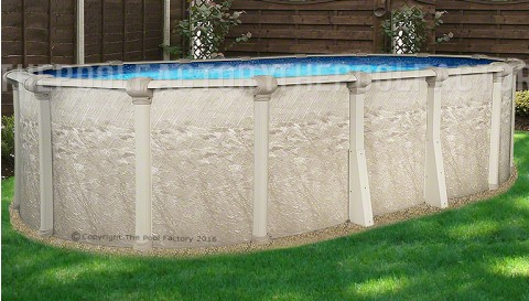 "18'x33'x52"" Cameo Oval Pool"