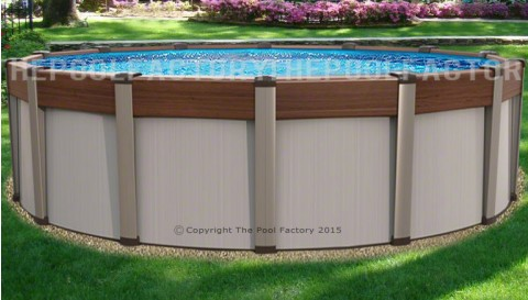 "30'x54"" Contempra Round Pool"
