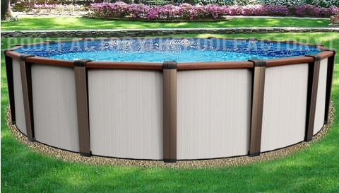 "21'x54"" Daytona Round Pool"