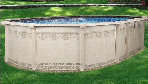 "12'x21'x52"" Hampton Oval Pool"