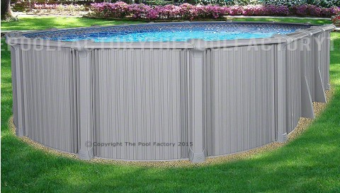 "12'x17'x54"" Intrepid Oval Pool"