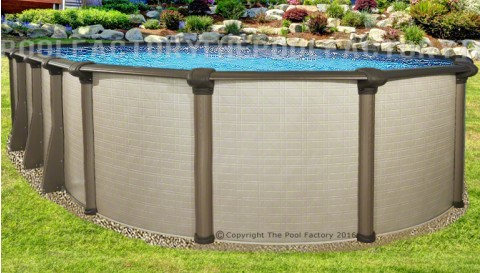"21'x43'x54"" Melenia Oval Pool"