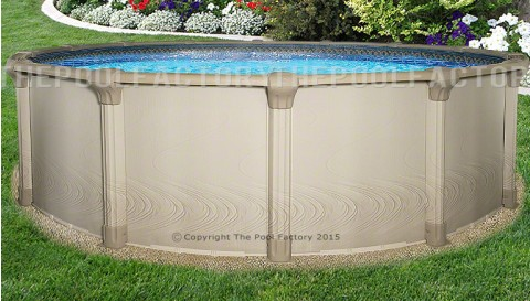 "21'x54"" Quest Round Pool"