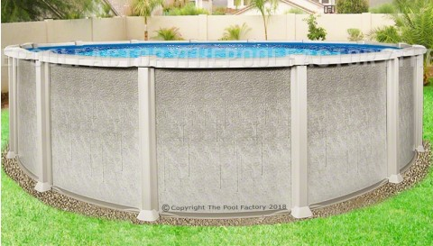 "27'x54"" Saltwater 8000 Round Pool"