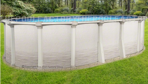 "12'x20'x52"" Signature RTL Oval Pool"