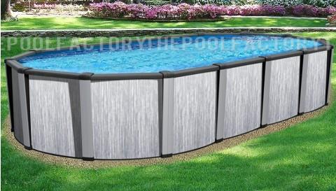 """18'x33'x54"""" Tribeca Oval Pool"""