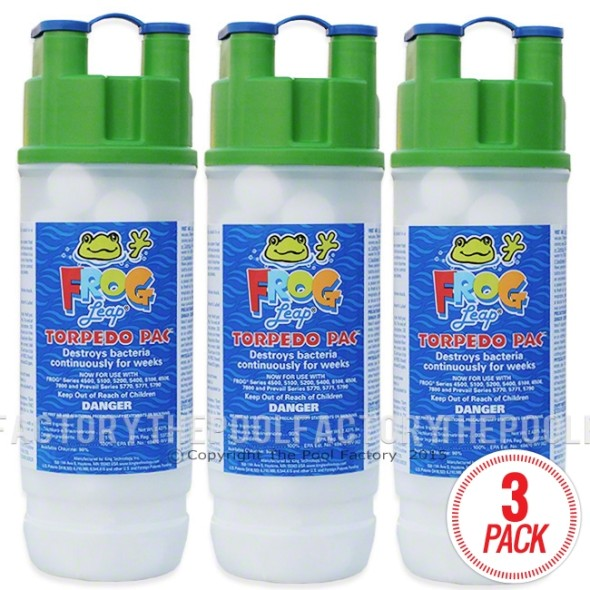Pool Frog Leap Torpedo Pac - 3 Pack