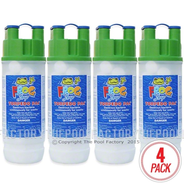 Pool Frog Leap Torpedo Pac - 4 Pack