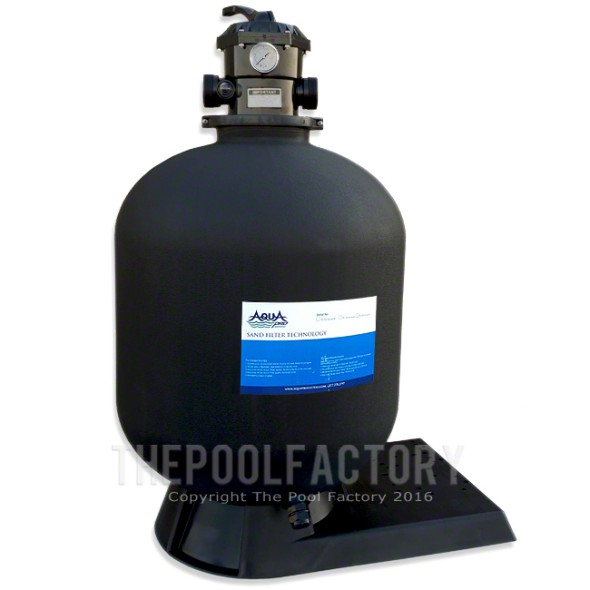 "AquaPro 24"" Sand Filter Tank, Valve, & Base"