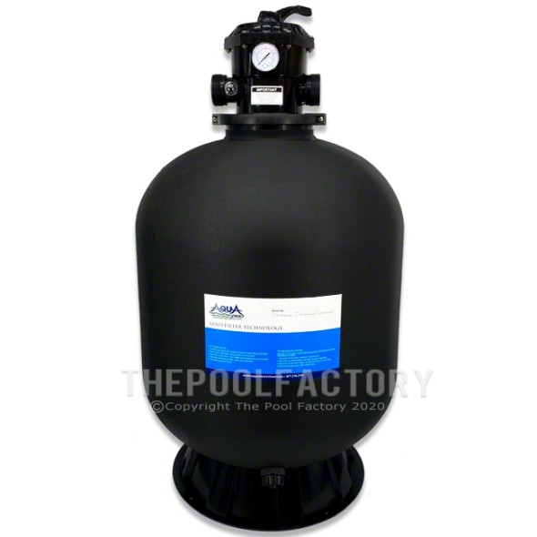 """AquaPro 24"""" Sand Filter Tank with Skirt"""