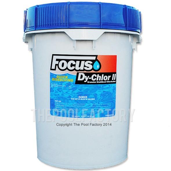 Focus Chlorine Granular 40lbs - Quick Dissolving
