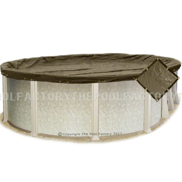 8'x12' Oval Super Heavy XXtreme Winter Cover