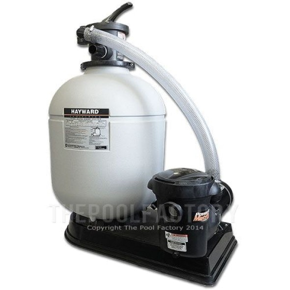 "Hayward S210T 20"" Sand Filter System 1.5-HP Matrix Pump"
