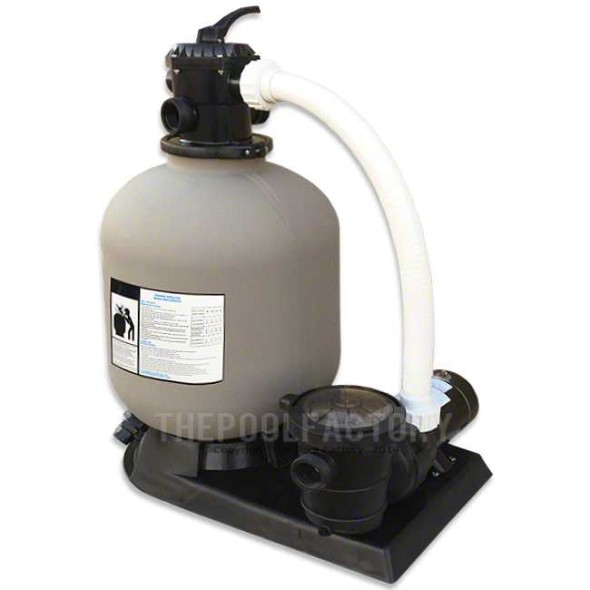 "Hydrotools 16"" Sand Filter System 1-HP Pump"