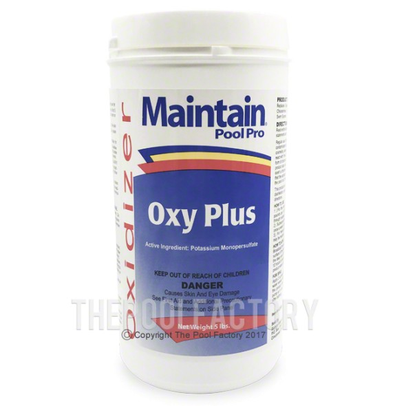 Oxy Plus Non-Chlorine Shock 5lbs
