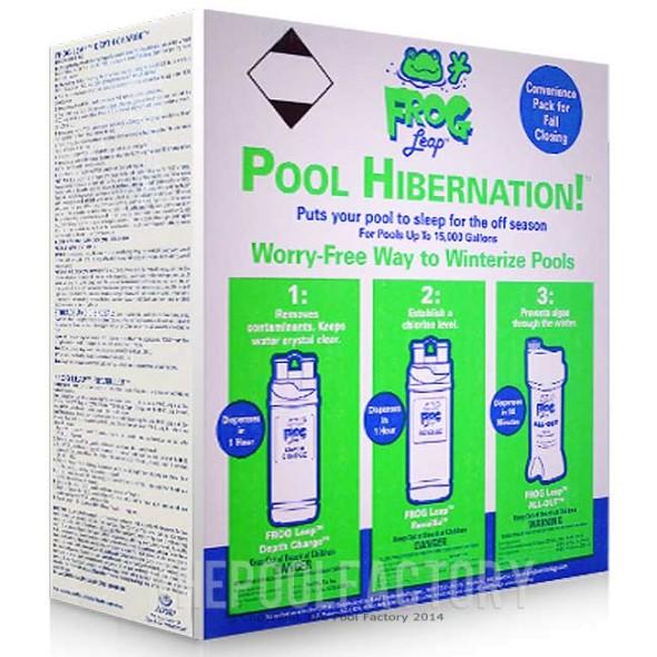 Pool Frog Leap Hibernation Winter Kit