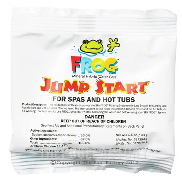 Frog Jump Start For Spas & Hot Tubs 1.5 Oz.