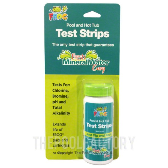 Pool Frog - Pool & Spa Test Kit (50 Strips)
