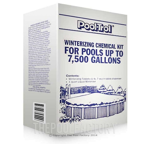 Pool-Trol Winterizing Kit for Pools up to 7,500 Gallons