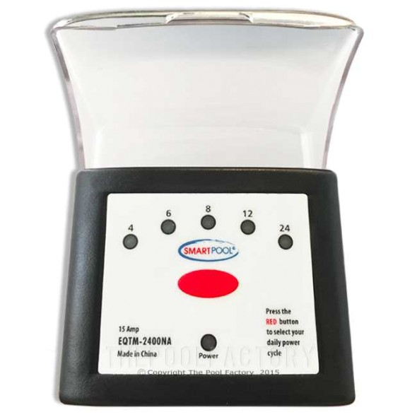SmartPool Programmable Standard Plug-In Outdoor Timer