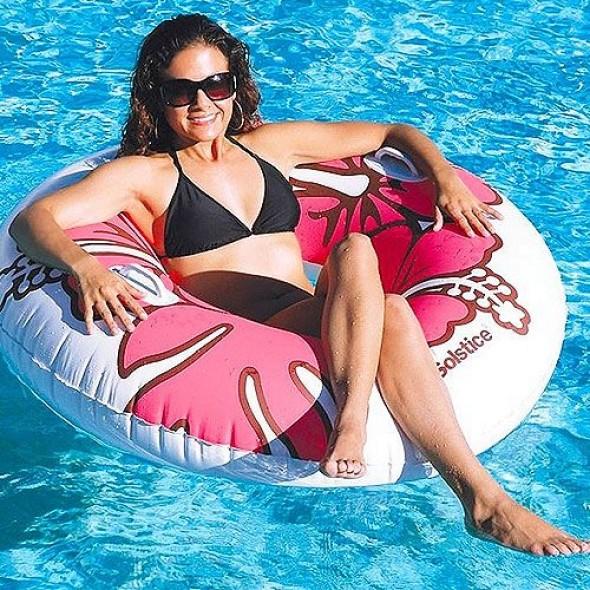 "Swimline Solstice Riviera Ring 48"" Tube (Pink) 17015HS"